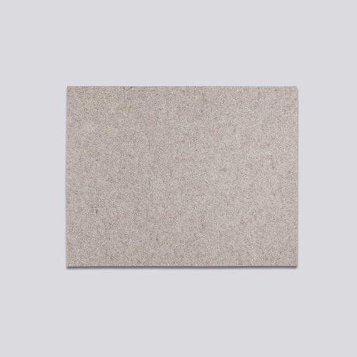 HAY | PLACE MAT SAND / 羊毛氈餐墊-淺灰色