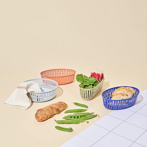 HAY | PANIER / OVAL BRIGHT BLUE / 藍色麵包籃