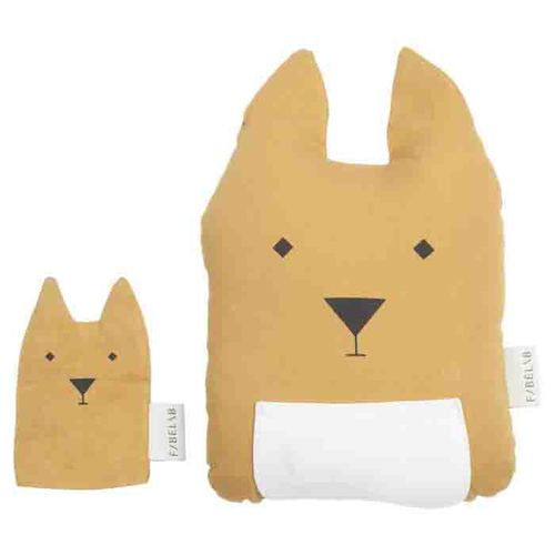 Fabelab l 袋鼠媽媽與寶寶抱枕 Fabelab Animal Cushion Kangaroo & Joey