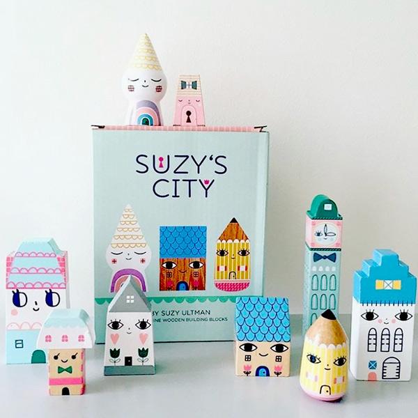 Petit Monkey 蘇茜的歡樂城市木作擺飾
