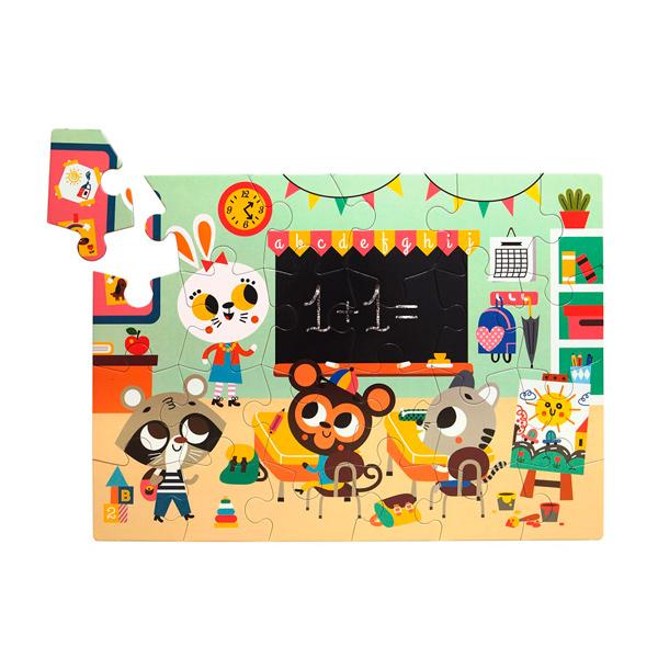 (複製)Petit Monkey|生狗狗與好朋友立體拼圖(2Y+)
