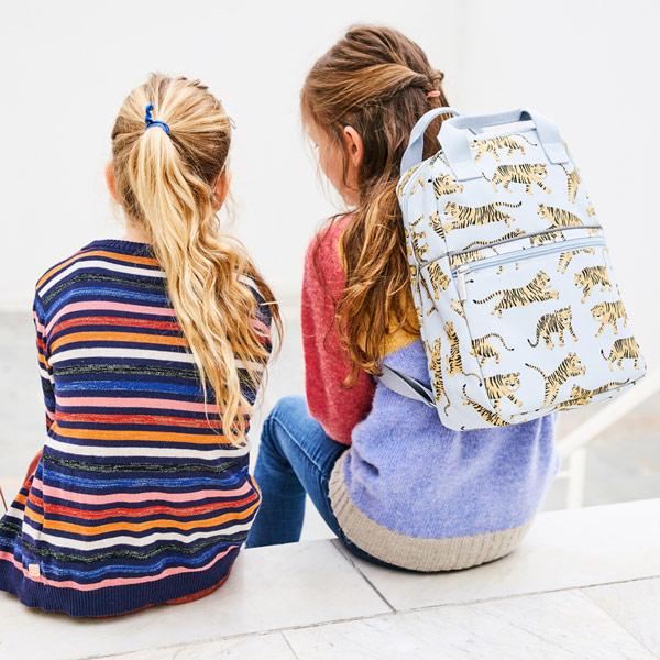 (複製)Petit Monkey 環保粉紅白虎小童背包-L號