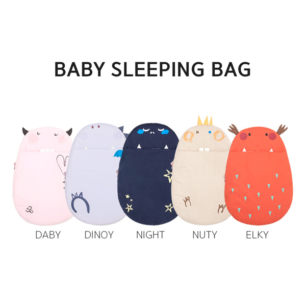 Daby|達比小怪獸嬰兒睡袋-Daby