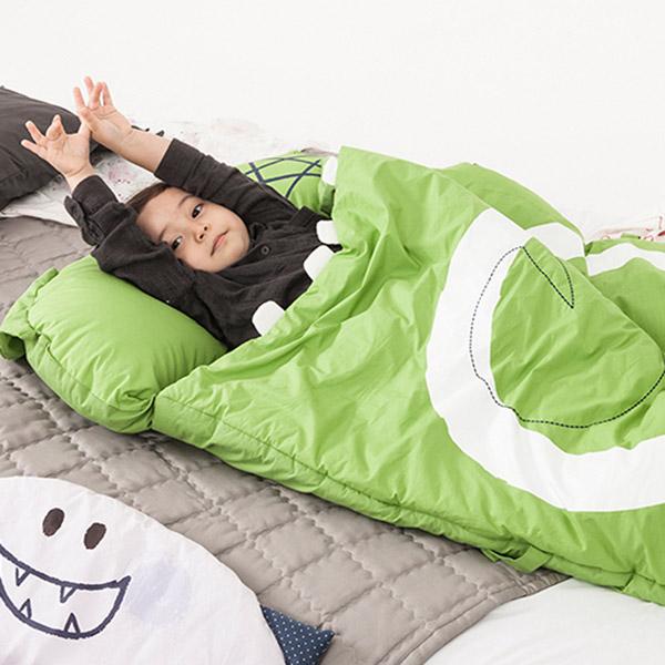 Daby|青蛙大怪獸兒童睡袋-Frogy