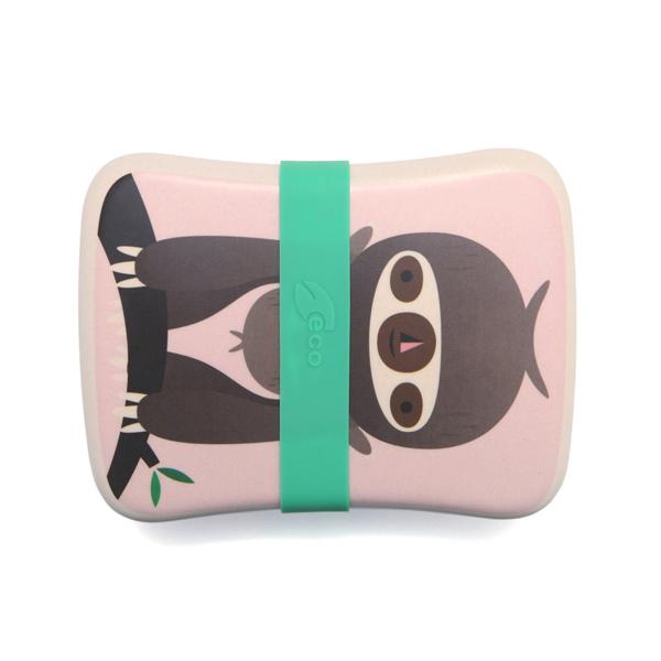 (複製)Petit Monkey|竹纖維野餐盒-粉綠甜甜圈