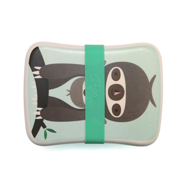 (複製)Petit Monkey|竹纖維野餐盒-粉紅樹獺