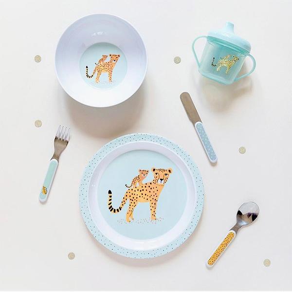 (複製)Petit Monkey|竹纖維野餐盒-犀牛與好朋友