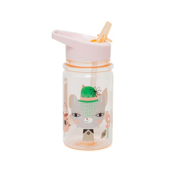 (複製)Petit Monkey|兒童水杯360(ml)-粉綠花生狗狗