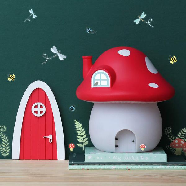(複製)荷蘭A little lovely company|粉紅蘑菇小夜燈