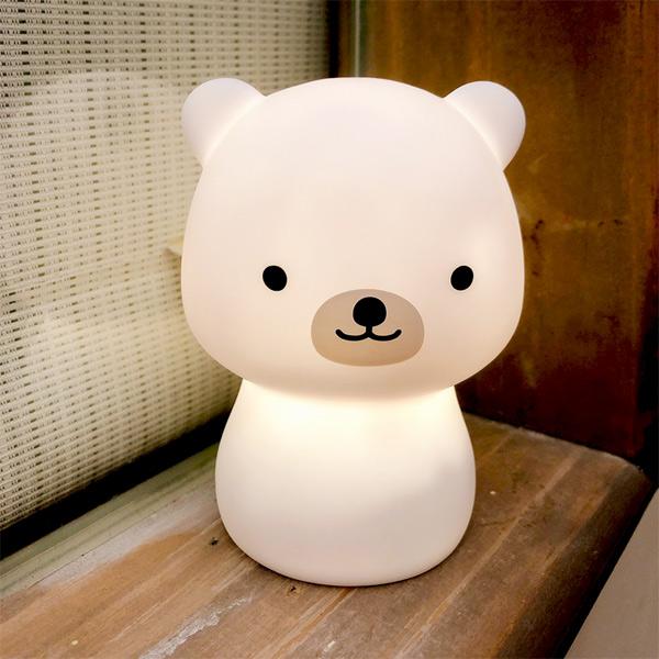 台灣SomeShine|充電式造型小夜燈-北極熊