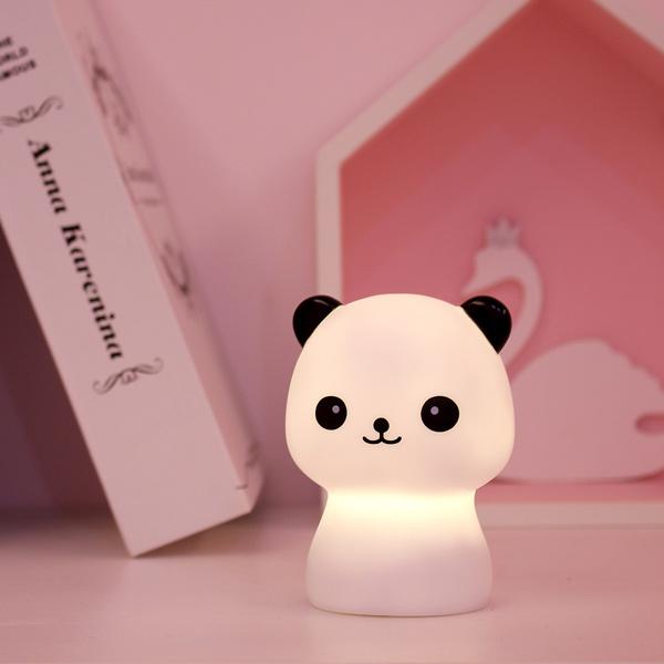 台灣SomeShine 充電式造型小夜燈-熊貓