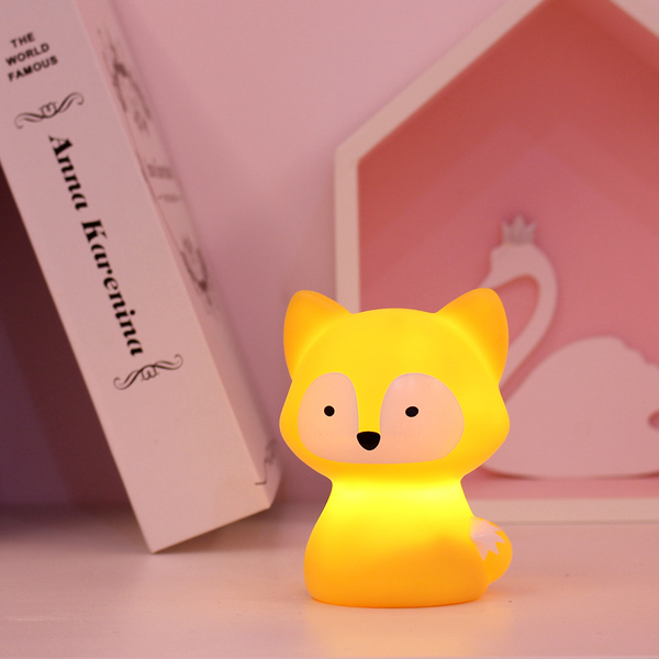台灣SomeShine|充電式造型小夜燈-狐狸