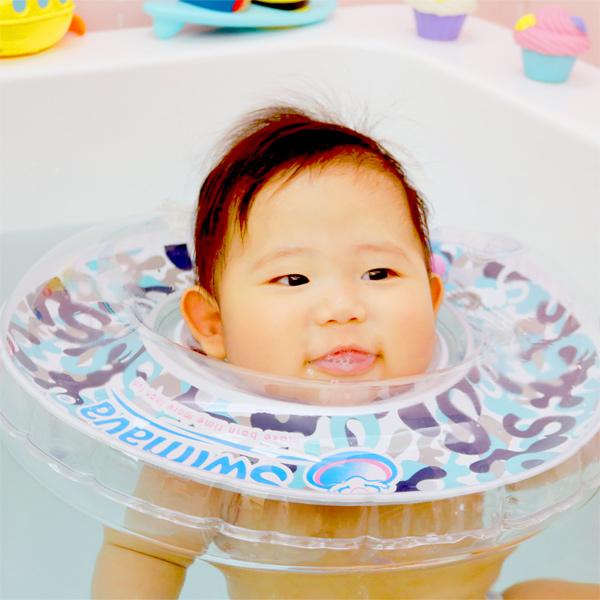 (複製)英國Swimava|G1淺藍迷彩嬰兒游泳脖圈-標準尺寸