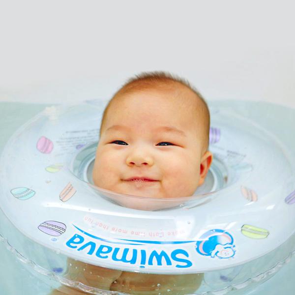 (複製)英國Swimava G1深藍迷彩嬰兒游泳脖圈-標準尺寸