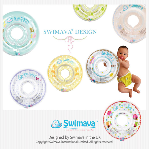 (複製)英國Swimava G1雪糕嬰兒游泳脖圈-標準尺寸