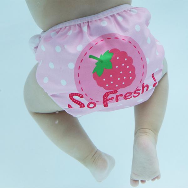英國Swimava|S1紅莓嬰兒游泳褲-L號