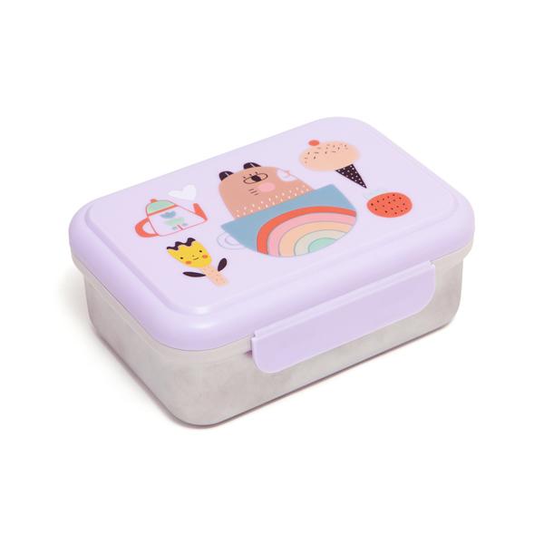 Petit Monkey|不鏽鋼野餐盒-我的寶貝