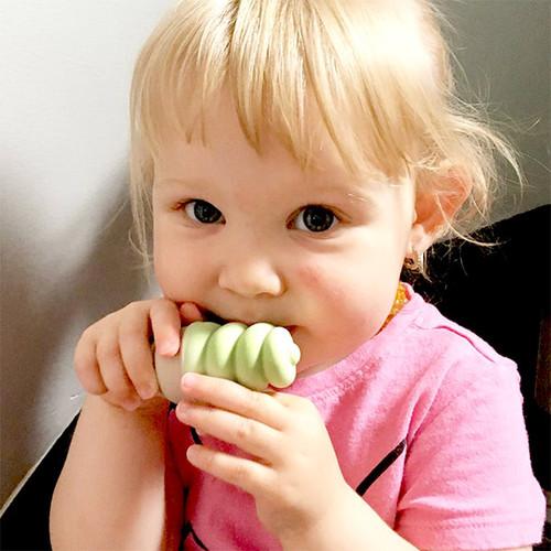 Sweetooth|香草冰淇淋固齒器-抹茶綠