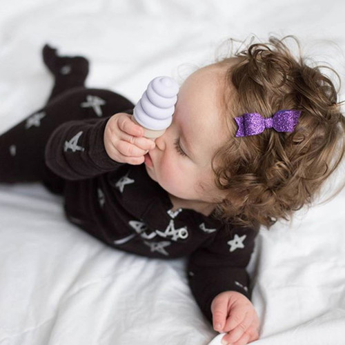 Sweetooth|香草冰淇淋固齒器-香芋紫