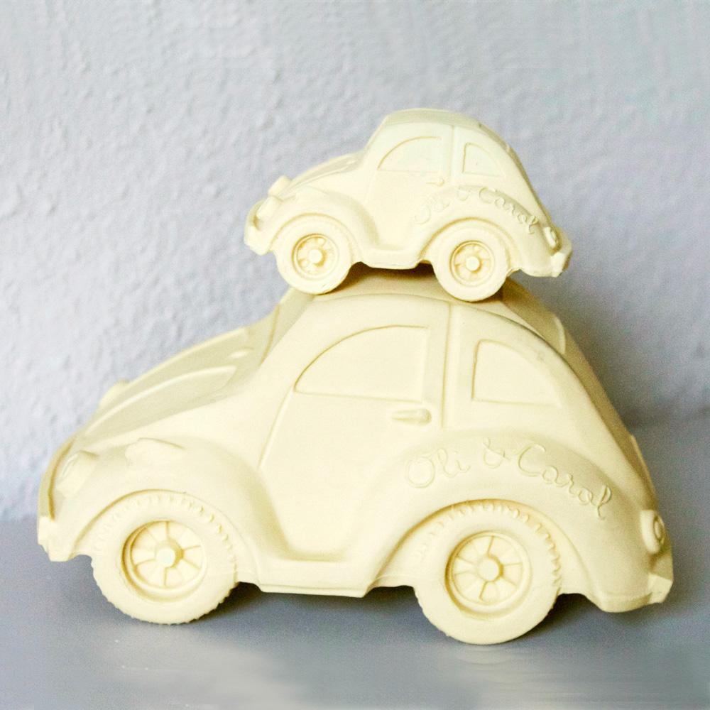 Oli&Carol|摩登小金龜車沐浴玩具-黃色