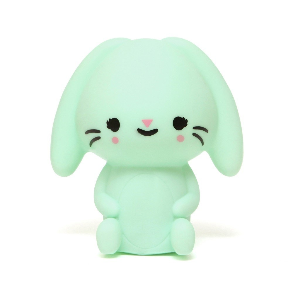 Petit Monkey 垂耳兔裝飾夜燈-粉綠