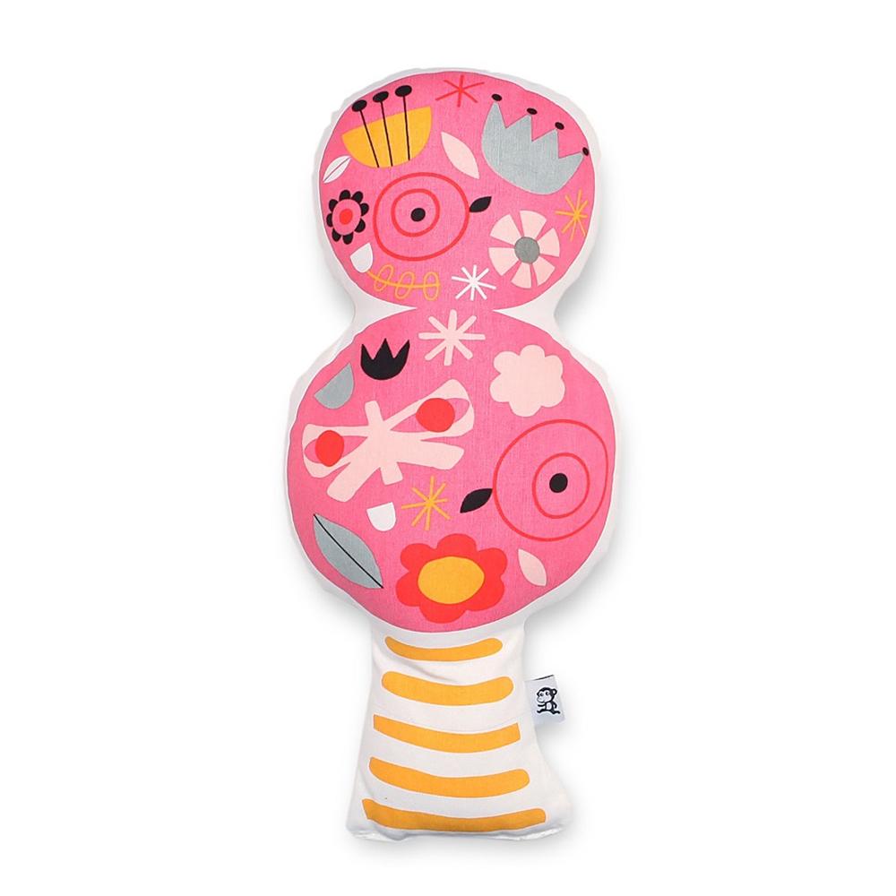 Petit Monkey 療癒粉紅酷女孩抱枕