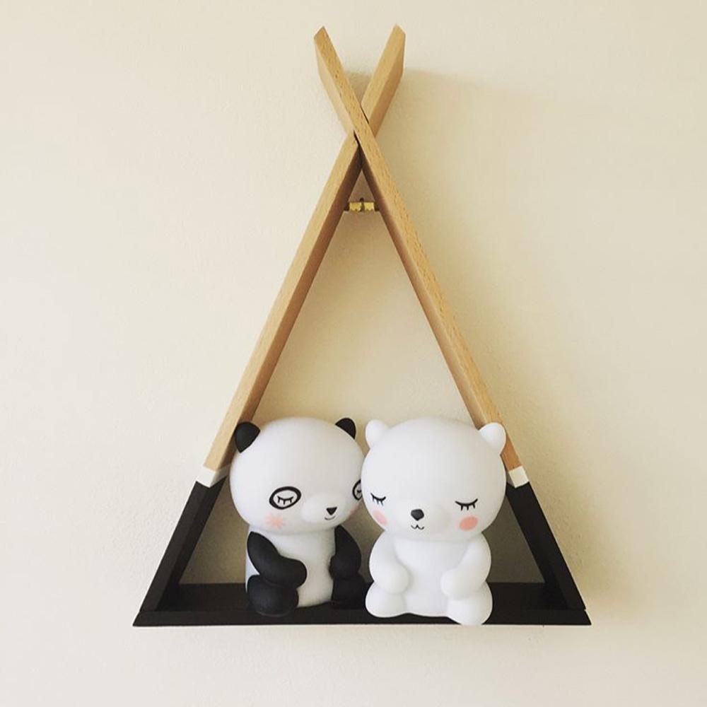 Petit Monkey|三角置物架-黑色