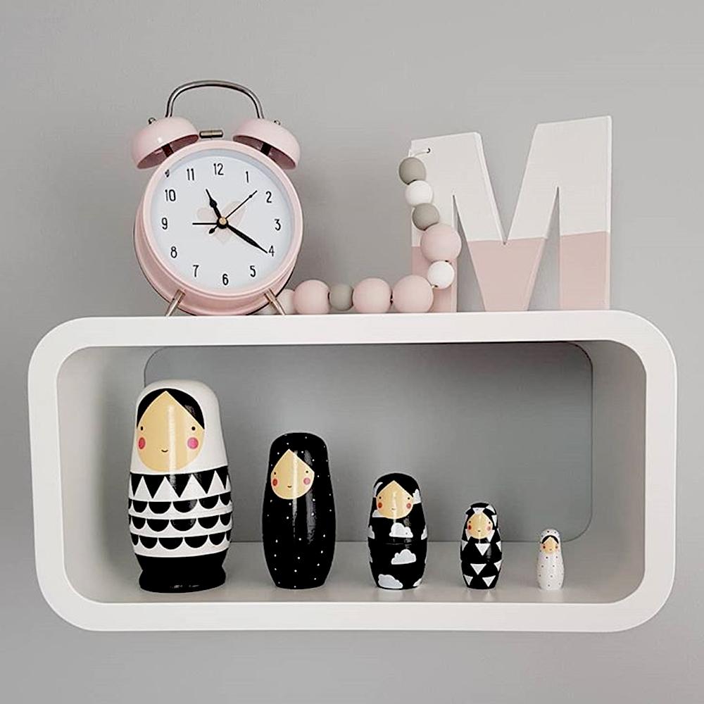 Petit Monkey|黑白女孩俄羅斯娃娃