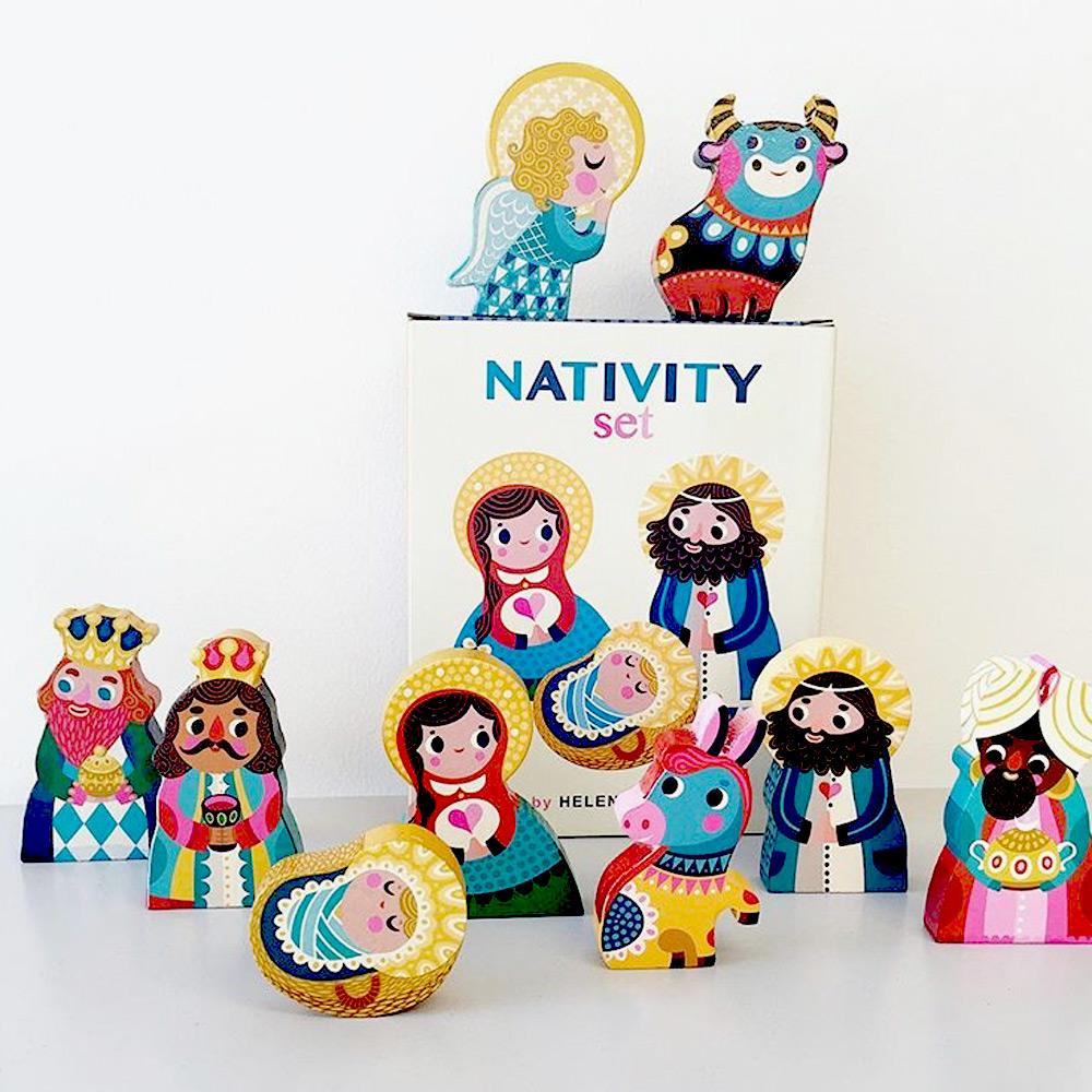 Petit Monkey|耶穌誕生人物組木作擺飾