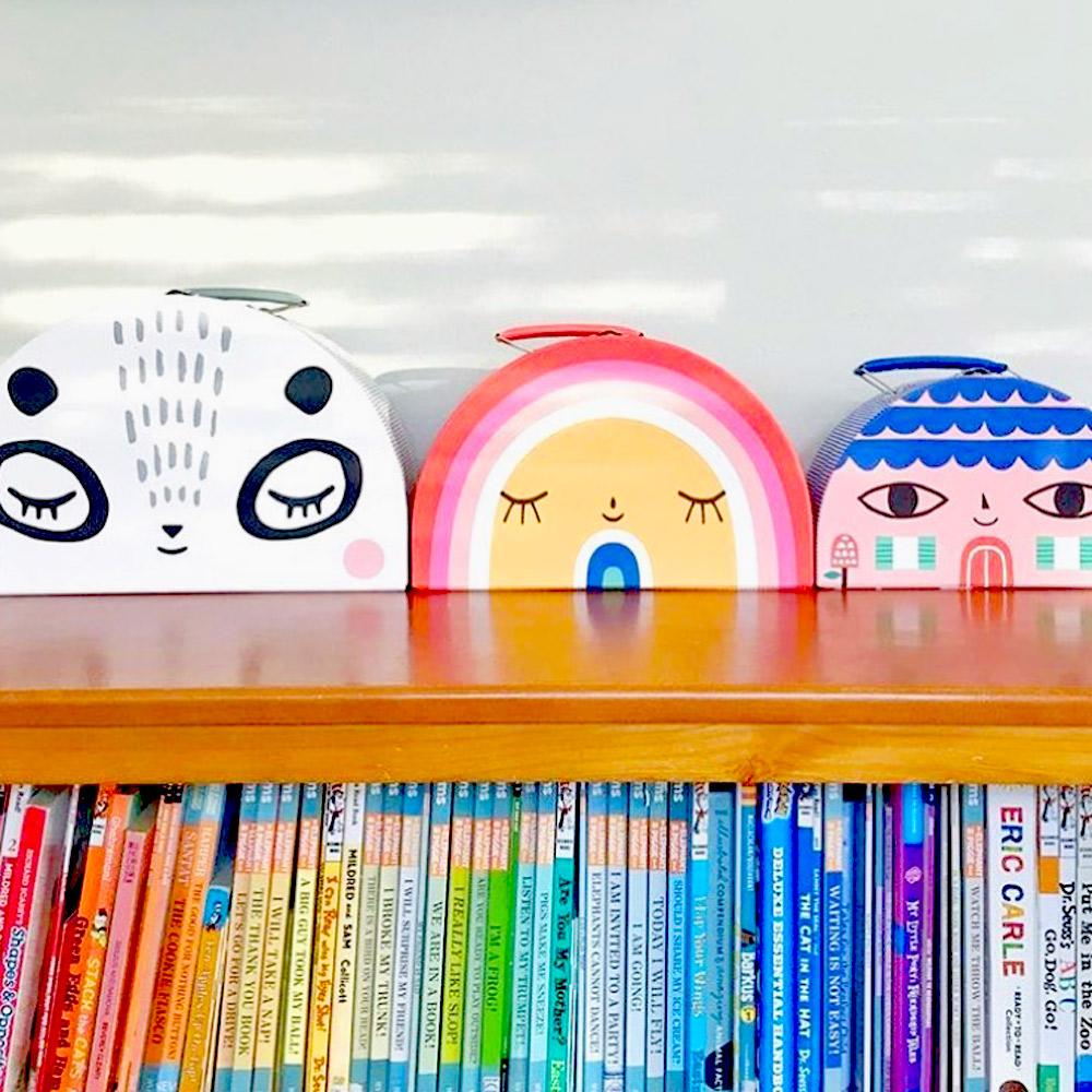 Petit Monkey|玩具收納手提箱(三入組)