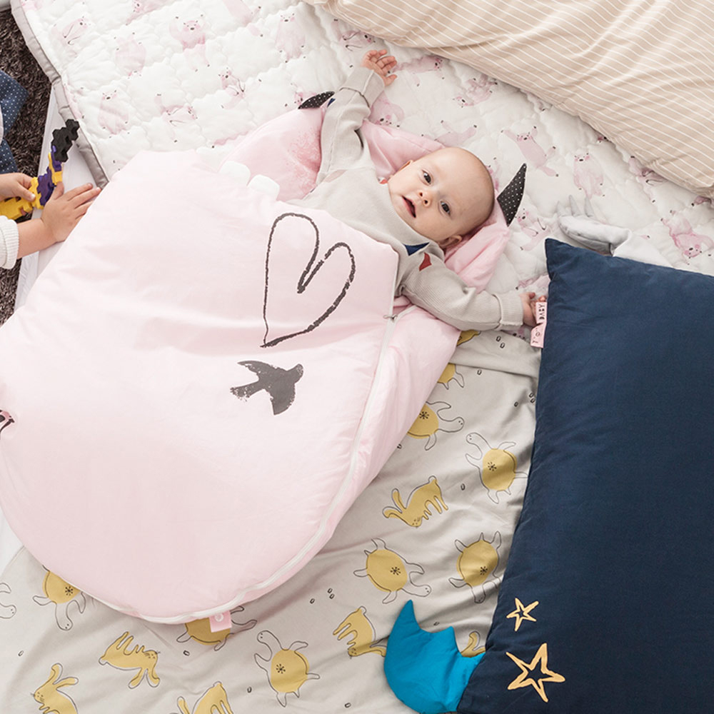Daby 達比小怪獸嬰兒睡袋-Daby