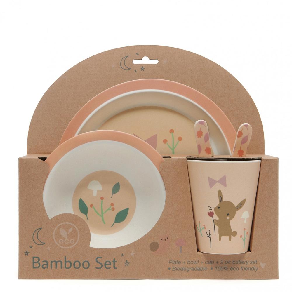 Petit Monkey|竹纖維餐碗-小兔