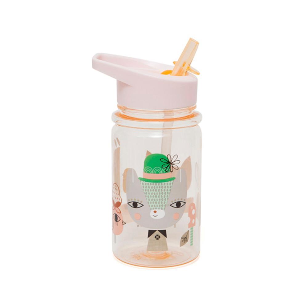 Petit Monkey|兒童水杯360(ml)-粉紅草尼馬與好朋友