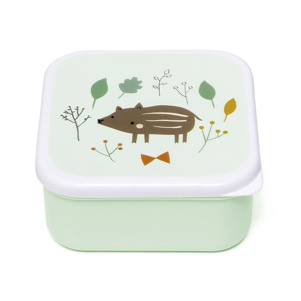 Petit Monkey|零食盒3入組-森林動物