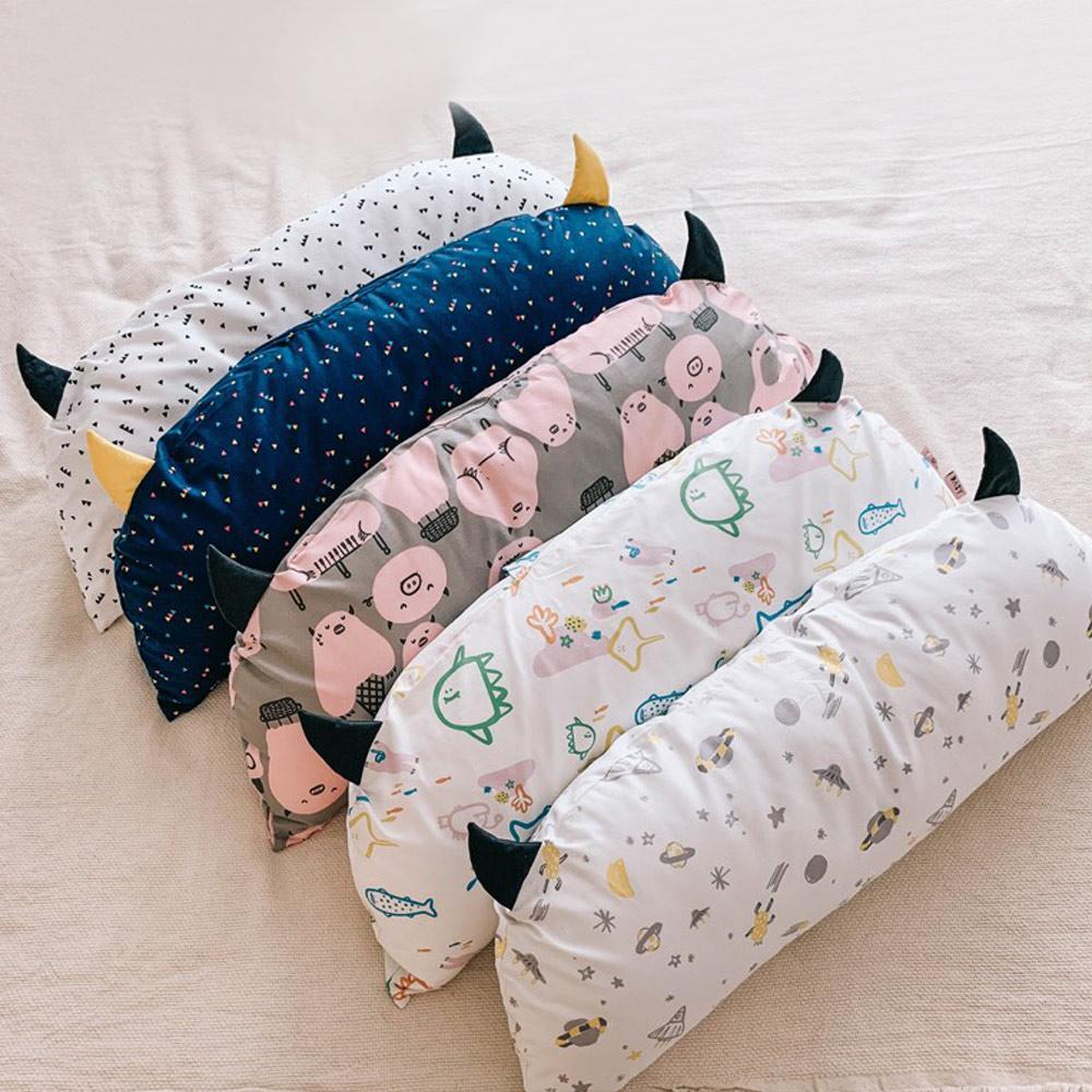 Daby|小怪獸幼兒造型枕-豬豬小怪獸
