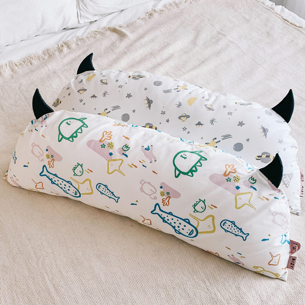 Daby|小怪獸幼兒造型枕-海底世界