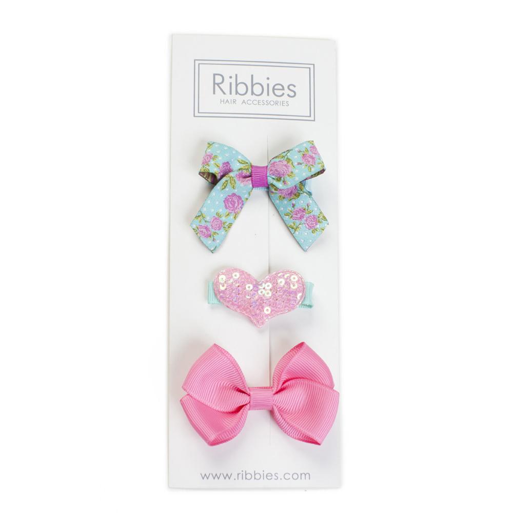 Ribbies|綜合緞帶3入組-Nora