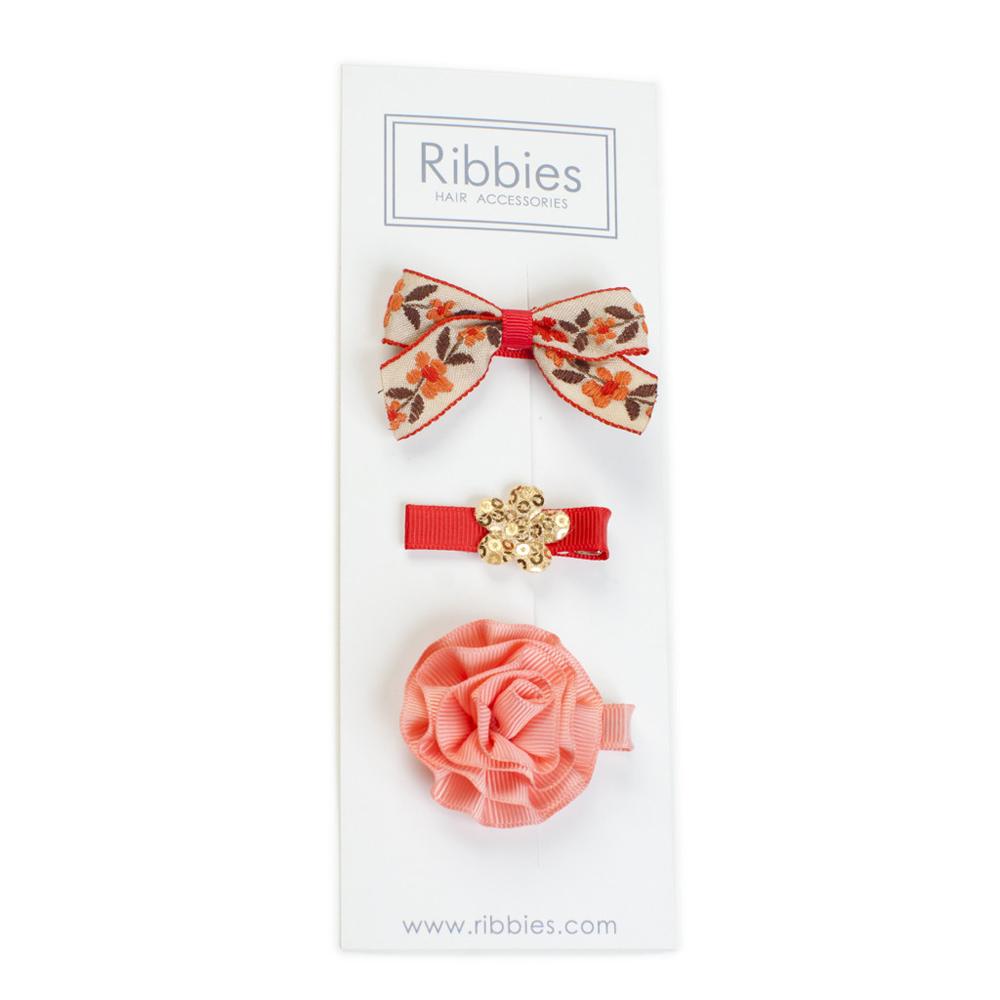 Ribbies|綜合緞帶3入組-Annabelle