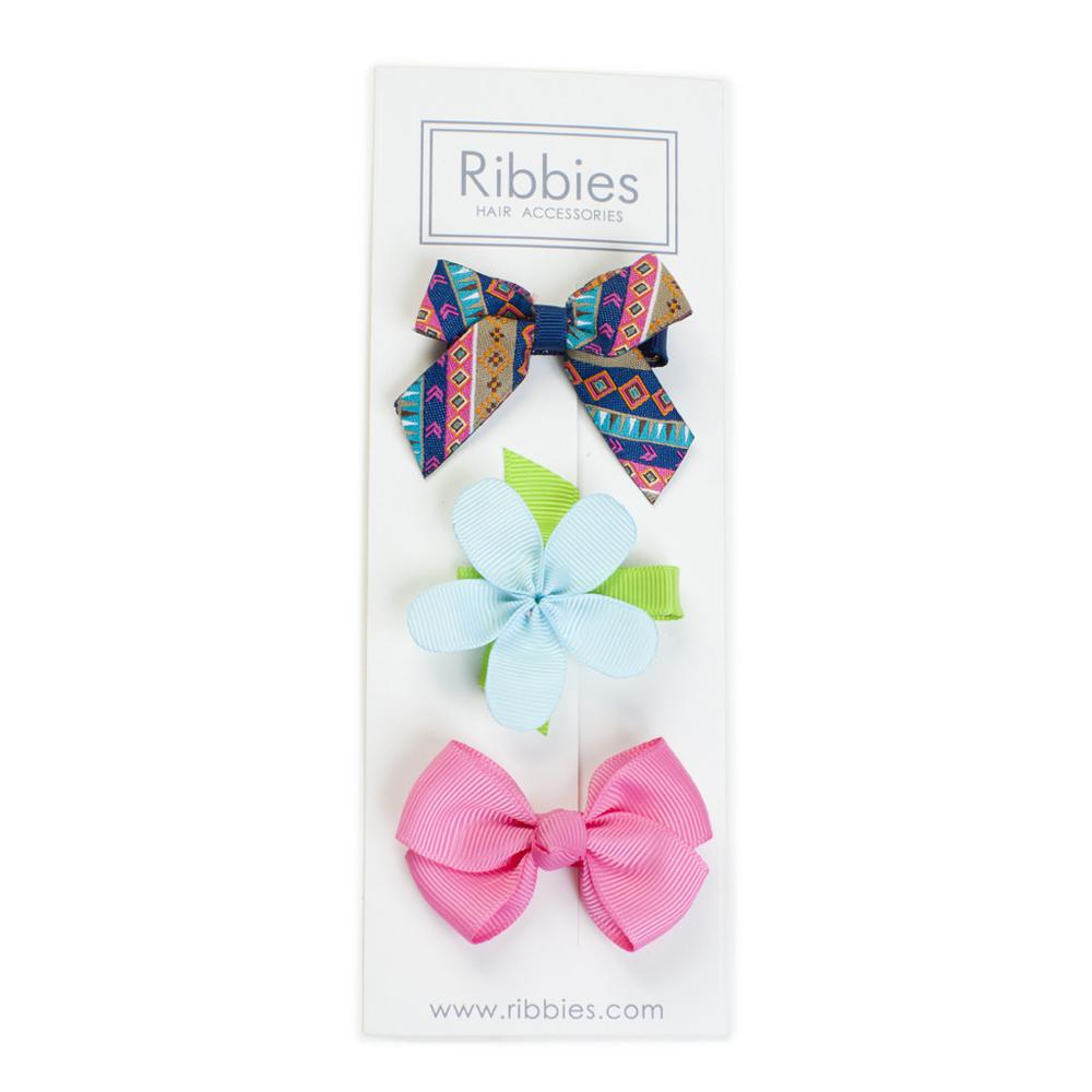 Ribbies|綜合緞帶3入組-London