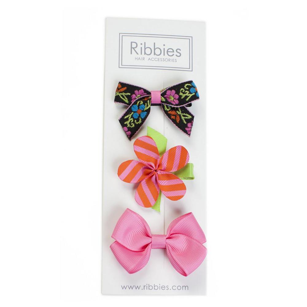 Ribbies|綜合緞帶3入組-Marley
