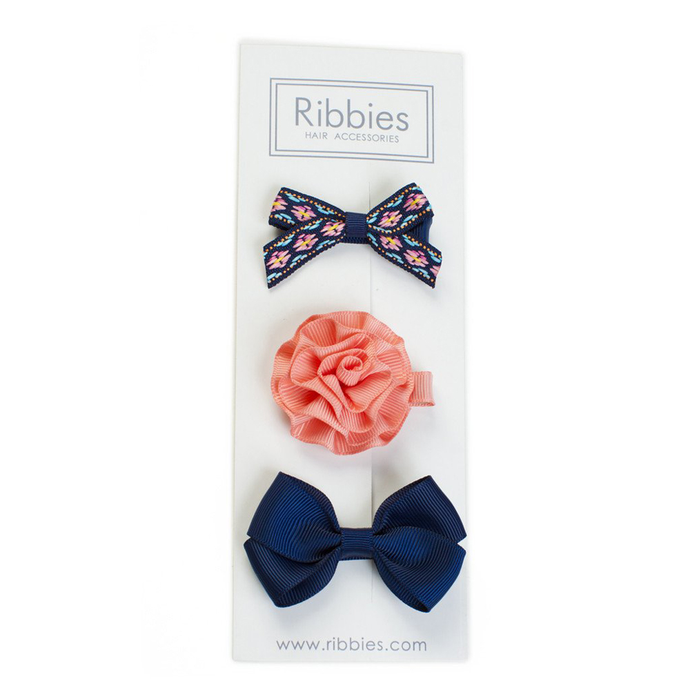 Ribbies 綜合緞帶3入組-Mabrey