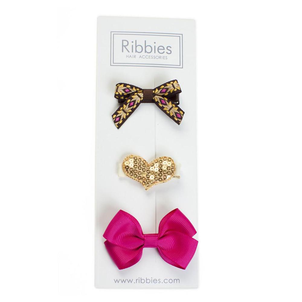 Ribbies|綜合緞帶3入組-Amarra