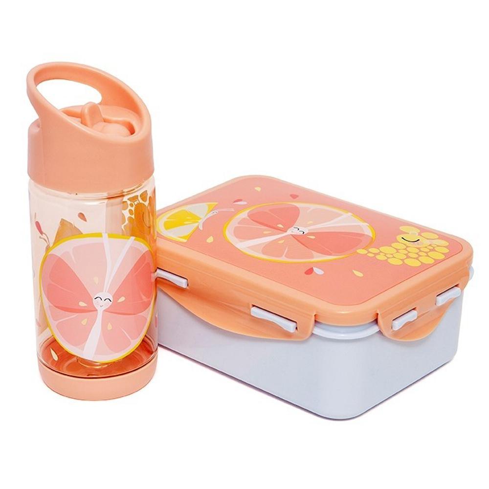 Petit Monkey|兒童水杯320(ml)-香橙蝴蝶