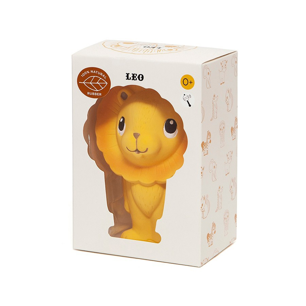 Petit Monkey|天然橡膠玩具-小獅子李奧