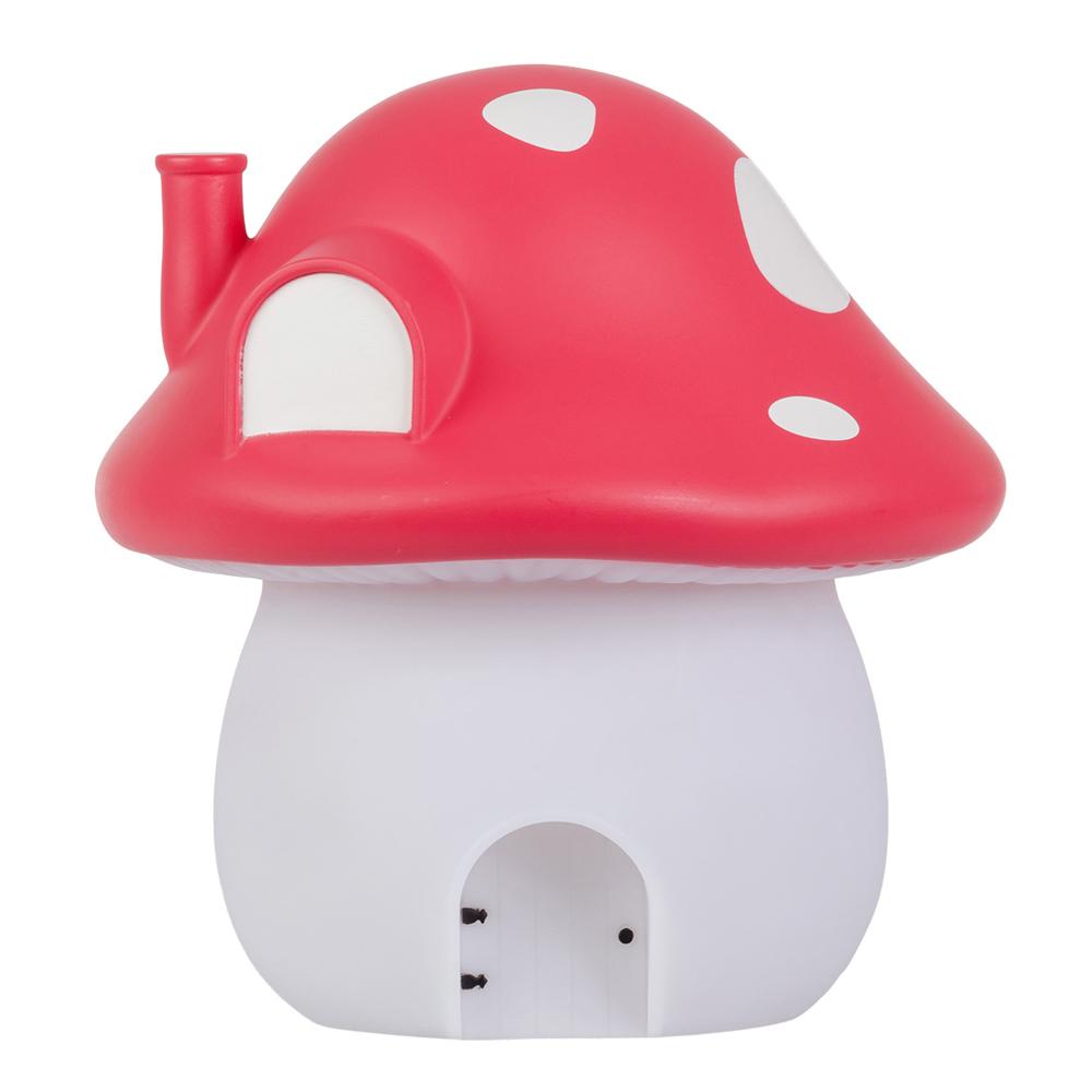 荷蘭A little lovely company|療癒亮紅大蘑菇裝飾燈(含變壓器)