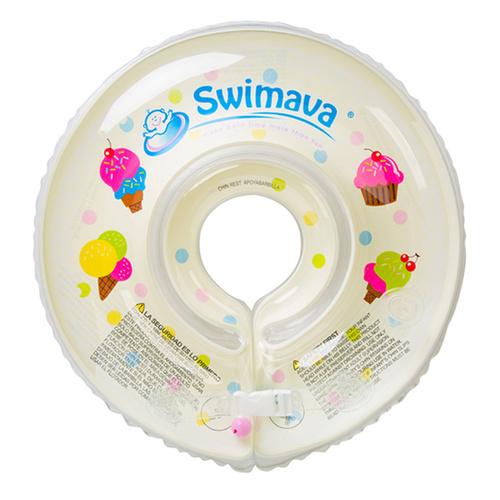 英國Swimava|G1雪糕嬰兒游泳脖圈-標準尺寸