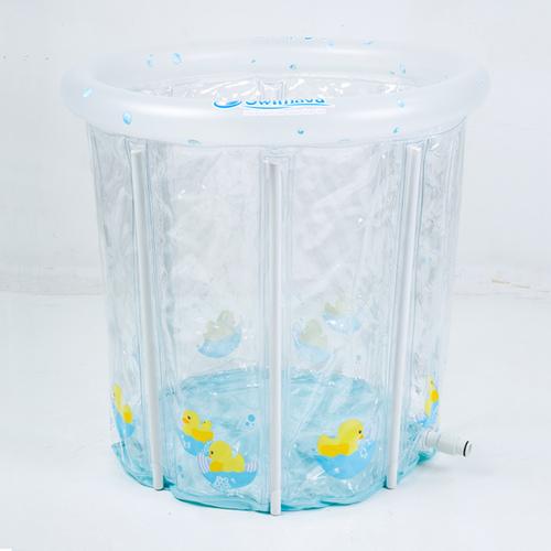 英國Swimava P2簡易家庭式嬰兒水池 -時尚小鴨款