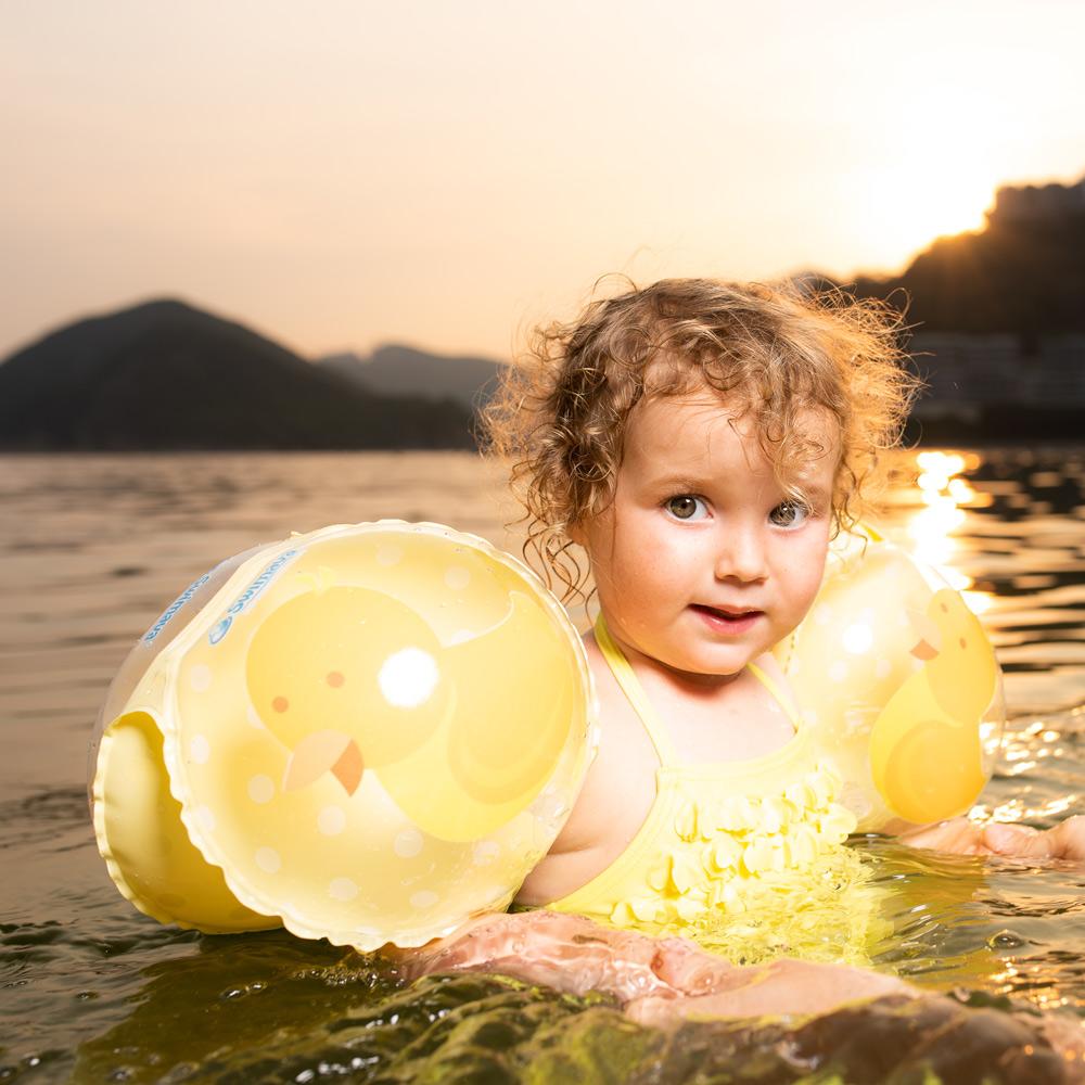 英國Swimava|G4 小黃鴨兒童游泳臂圈