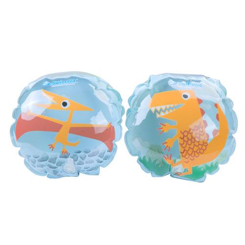 英國Swimava|G4 恐龍兒童游泳臂圈