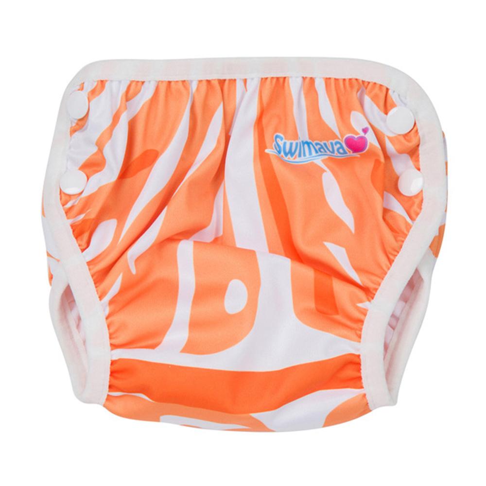 英國Swimava S1香橙嬰兒游泳褲-L號